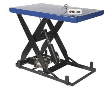 El-hydraulisk løftebord